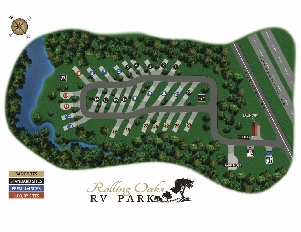 RORV Park Map