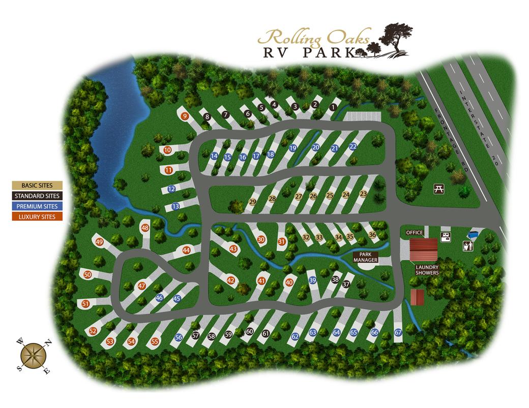 rorv park map -2019